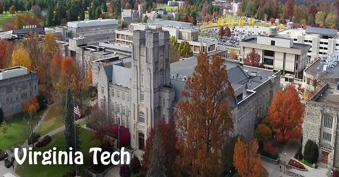 Virginia Tech University Va Your College Bound Kid